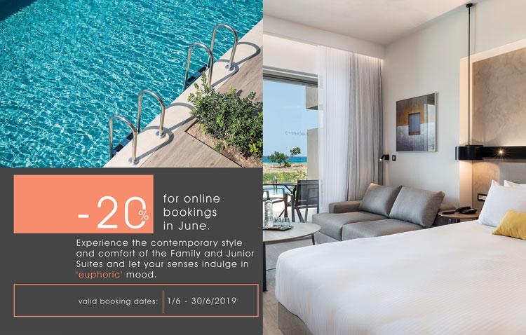 Online Bookings Discount